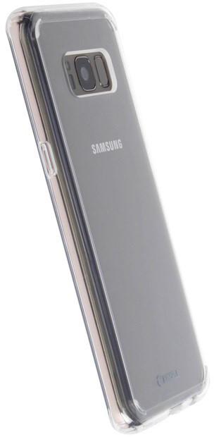 Krusell KIVIK zadní kryt pro Samsung Galaxy S8, transparentní
