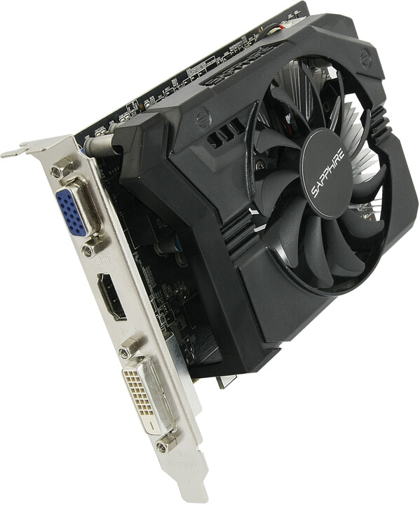 Sapphire R7 250 2GB DDR3 WITH BOOST