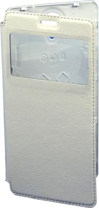 DOOGEE flipové pouzdro pro Doogee F2, bílé