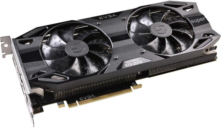 EVGA GeForce RTX 2070 SUPER BLACK GAMING, 8GB GDDR6