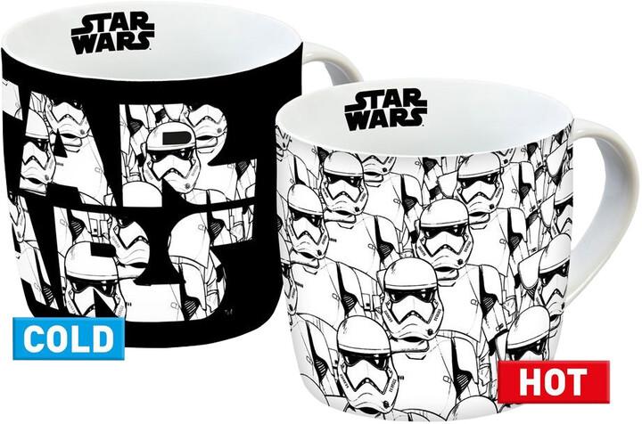 Hrnek Star Wars - Stormtrooper, měnící se, 250 ml