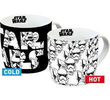 Hrnek Star Wars - Stormtrooper, měnící se, 250 ml - 4051112639172