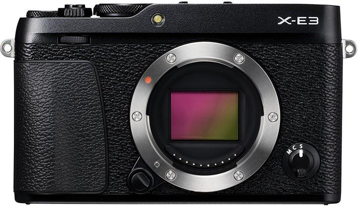 Fujifilm X-E3, tělo, černá