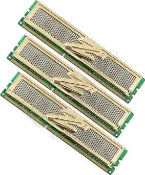 OCZ Gold Low Voltage 6GB (3x2GB) DDR3 1600