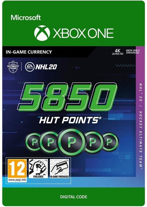 NHL 20 - 5850 HUT Points (Xbox ONE) - elektronicky