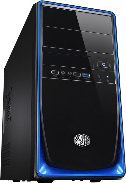 CoolerMaster Elite 344 (RC-344-BKN2), černo-modrá
