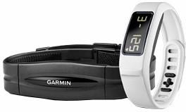 Garmin Vivofit 2, HR, bílá