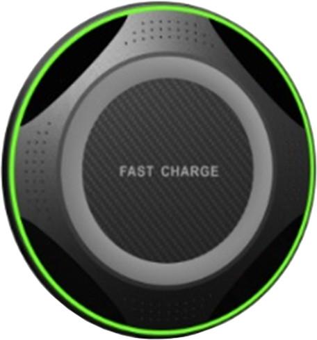 IMMAX bezdrátová nabíječka wireless charger, černá