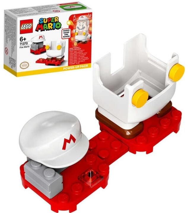 LEGO® Super Mario™ 71370 Obleček ohně – vylepšení pro Maria