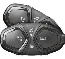 CellularLine Bluetooth handsfree pro uzavřené a otevřené přilby Interphone ACTIVE, Twin Pack INTERPHOACTIVETP