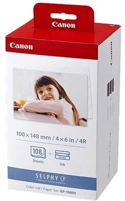 Canon Foto papír KP-108IN, 10x15 cm, 108 listů