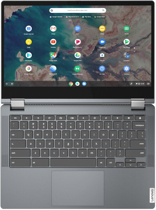 Lenovo Chromebook Flex 5-13IML05, šedá