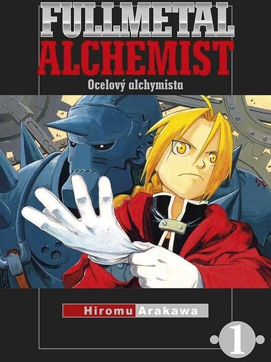Komiks Fullmetal Alchemist - Ocelový alchymista, 1.díl, manga