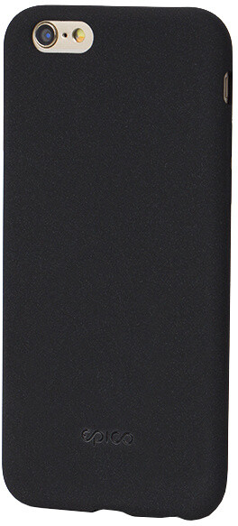 EPICO pružný plastový kryt pro iPhone 6/6S RUBY - černý
