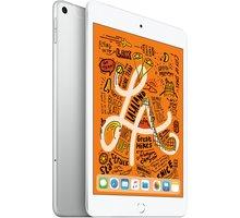 Apple iPad Mini, 64GB, Wi-Fi + Cellular, stříbrná, 2019  + Půlroční předplatné magazínů Blesk, Computer, Sport a Reflex v hodnotě 5 800 Kč + Apple TV+ na rok zdarma
