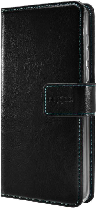 FIXED pouzdro typu kniha Opus pro Huawei Y5 (2019), černá