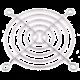 Primecooler PC-FG80 Fan Guard, stříbrná