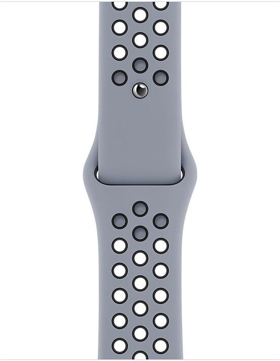 Apple řemínek Nike pro Watch Series, sportovní, 40mm, šedá