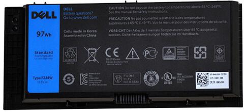 Dell Baterie 9-cell 97W/HR LI-ION pro Precision M4800, M6800