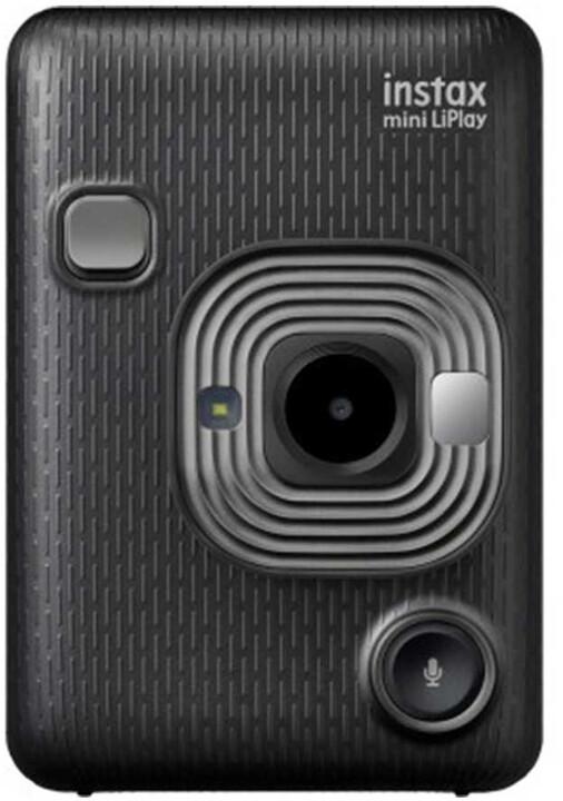 Fujifilm Instax MINI LIPLAY EX D, tmavě šedá