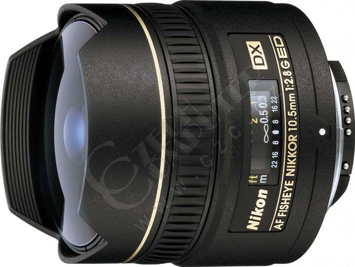 Nikon objektiv Nikkor 10.5mm f/2.8G ED DX Fisheye