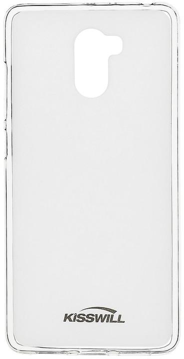 Kisswill TPU pouzdro pro Xiaomi Redmi 4, transparentní