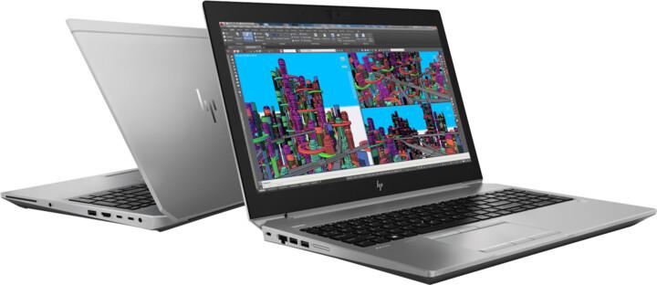 HP ZBook 15 G5, šedá