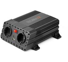 Technaxx měnič napětí 600W, DC 12V na 2xUSB a 2x230V (TE19) - TX0510
