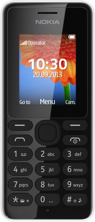 Nokia 108 Dual SIM, bílá