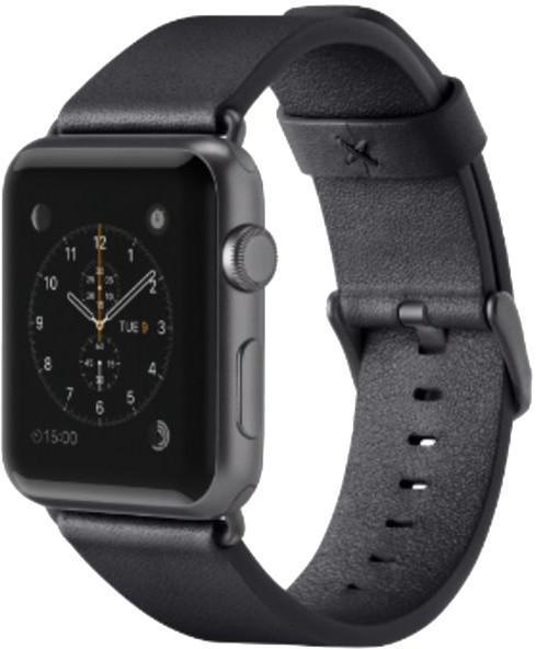 Belkin kožený řemínek pro Apple watch (42mm), černý