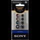 Sony sluchátka EP-EX10A náhradní silikonové koncovky, černá