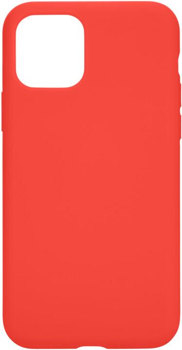 Tactical silikonový kryt Velvet Smoothie pro Apple iPhone 11 Pro, oranžová