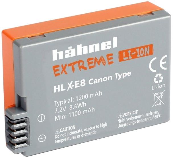 Hähnel baterie pro Extreme Canon HLX-E8