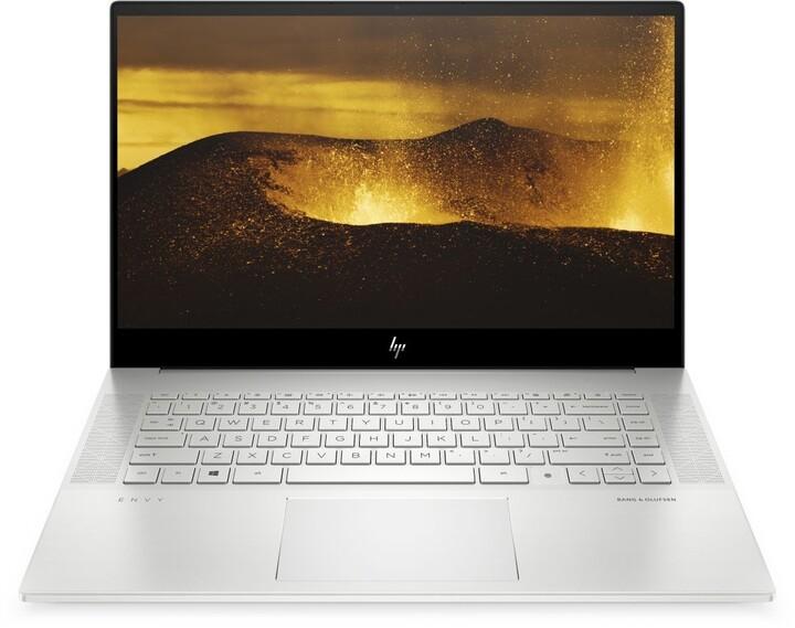 HP ENVY 15-ep0000nc, stříbrná + ON Site záruka