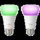 PHILIPS Hue White and color ambiance, 2x žárovka 10W E27 A19 DIM