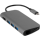 EPICO USB Type-C Hub Multi-Port 4k HDMI & Ethernet - space grey/black
