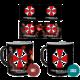 Hrnek Resident Evil - Umbrella (měnící)