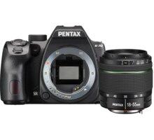 Pentax K-70, černá + DAL 18-55mm WR - 16268