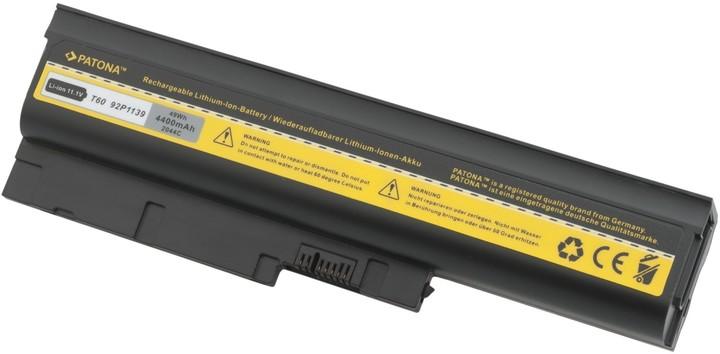 Patona baterie pro IBM, THINKPAD T60/T61 4400mAh Li-Ion 10,8V