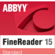 ABBYY FineReader 15 Standard, Single User License (ESD), EDU, Perpetual