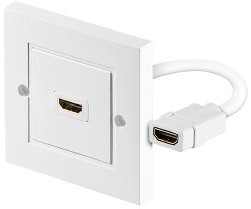 PremiumCord HDMI zásuvka v panelu 1x HDMI A - HDMI A Female/Female