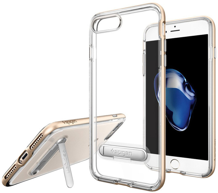 Spigen Crystal Hybrid pro iPhone 7 Plus, champagne gold