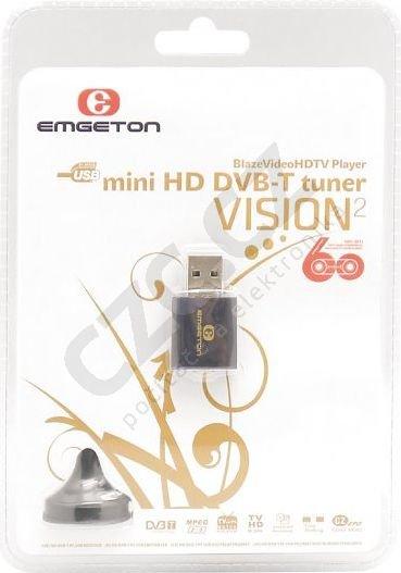 EMGETON VISION2 MINI HD USB DVB-T TUNER DRIVER