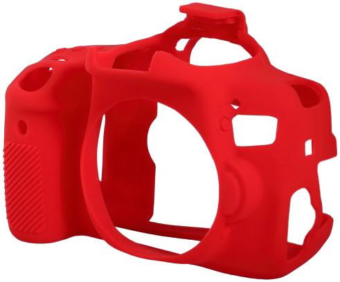 Easy Cover silikonový obal pro Canon 750D, červená