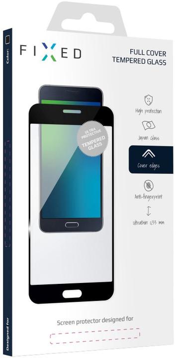 FIXED Full-Cover ochranné tvrzené sklo pro Huawei P9, přes celý displej, černé