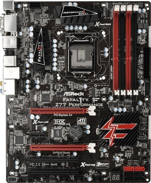 Asrock Fatal1ty Z77 Professional F-Stream Driver for Windows 10