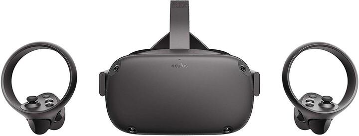 Oculus Quest, 128GB + 2x Oculus Touch ovladač