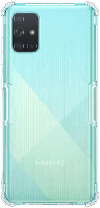 Nillkin Nature TPU pouzdro pro Samsung Galaxy A71, transparentní
