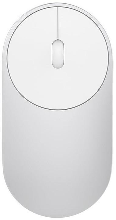 Xiaomi Mi Portable Mouse, stříbrná