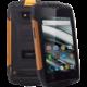 myPhone HAMMER IRON 2, černá/oranžová  + Hodinky Forever DW-100 (v ceně 299Kč)